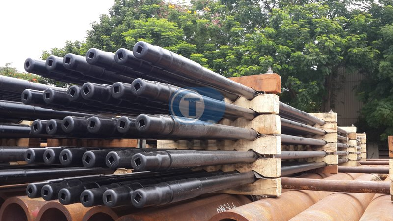 Reconditioning of Drill Pipe, Rethreading of Drill Pipe